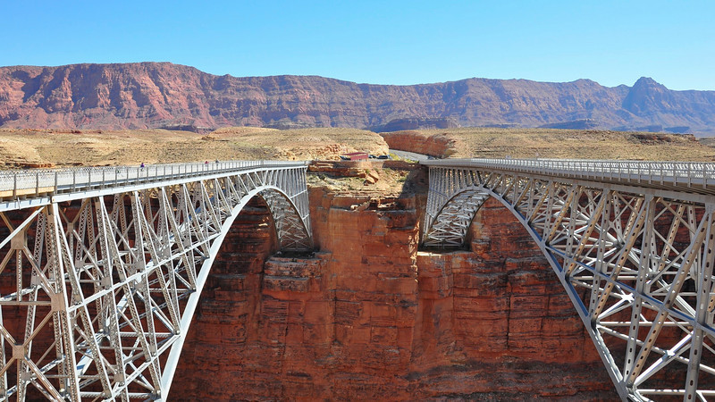 Navaho Bridge, Lees Ferry, AZ.