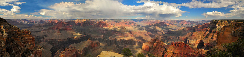Mohave Point Panorama, South Rim, Grand Canyon National Park.