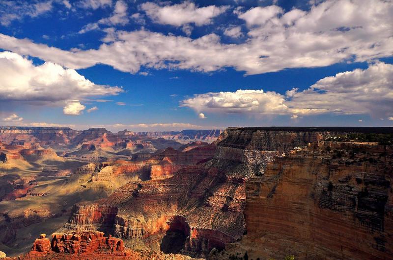 Maricopa Point, South Rim, Grand Canyon National Park.