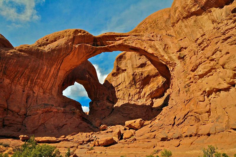 Double Arch, Arches National Park.