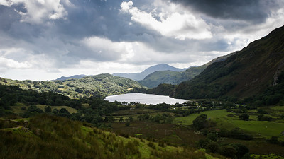 Llyn Gwynant If you like these images, please check out my Bookstore