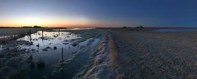 Sunrise in January, Kraptårnet