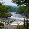 Big Eddy.. West branch of the Penobscot River. This is just east of the Ripogenus Gorge.