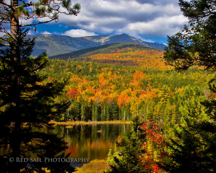 Mt. Katahdin from the Tote Road.