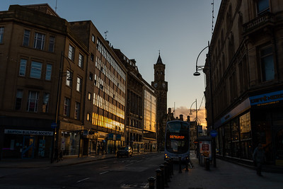 Bradford Broadway Sunset