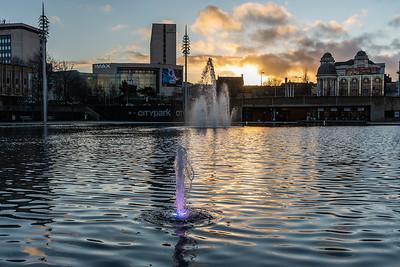 Sunset - City Park, Bradford