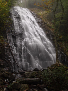 Crabtree Falls, located at Crabtree Meadows Recreation Area on the Blue Ridge Parkway