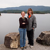 Liz and Vanessa at Holston Dam.