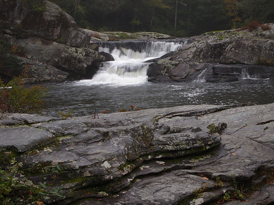 Upper Linville Falls, near the Blue Ridge Parkway.