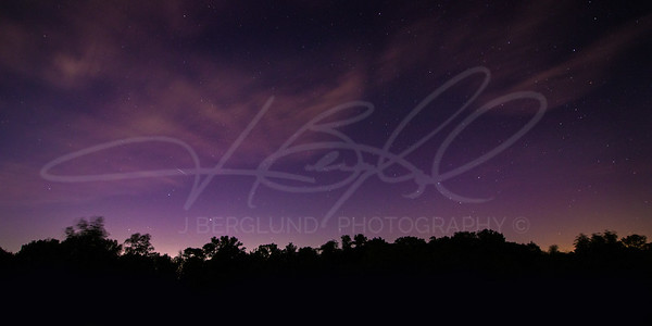 Nighttime Over High Cliff