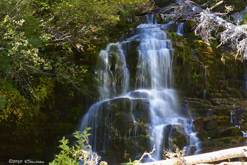 Bijoux Falls in the Pine Pass - Hwy 97 - northeastern BC