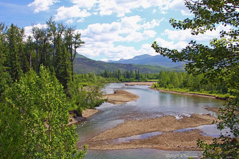 Pine River near Chetwynd, BC