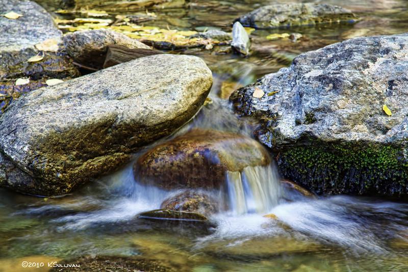 creek below Bijoux Falls