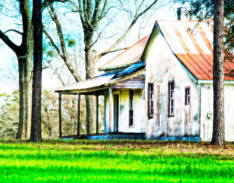 Abandoned Farm House, Southern Alabama