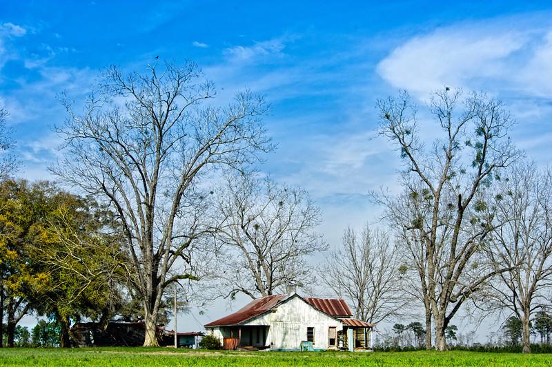 Abandoned Farm House- LA (that's lower Alabama)