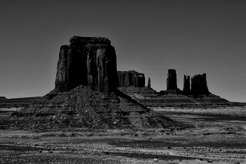 Monument Valley Buttes and Spires from Artist's Point