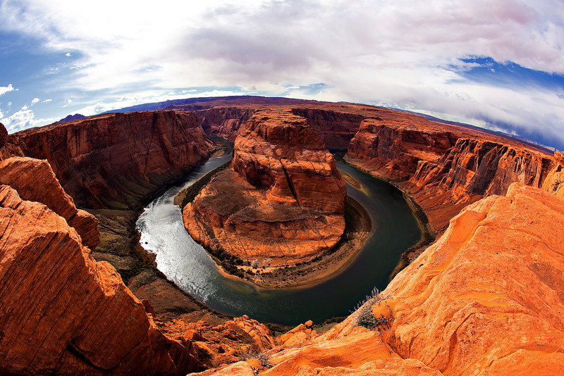 Horseshoe Bend Overlook, near Page, AZ