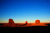 Mitten Sunset (and Shadow), Monument Valley