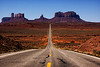 On the Road Again, Mile Marker 13 in Monument Valley, Utah, U.S.A.