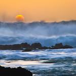 Coastal Turbulence at Sunset DSC_5133