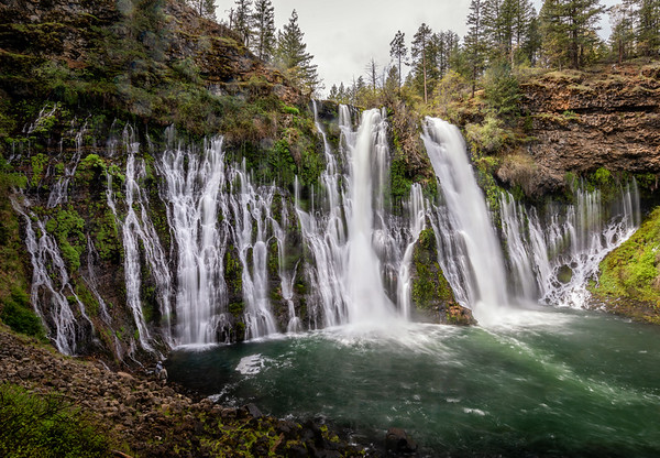 Burney Falls, McArthur Burney Falls State Park, California