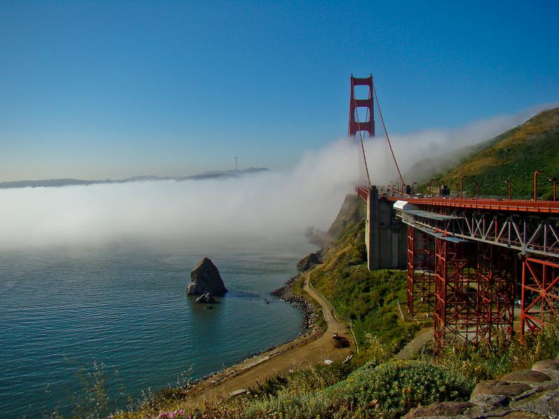 Golden Gate Overlook, San Francisco, California 2008