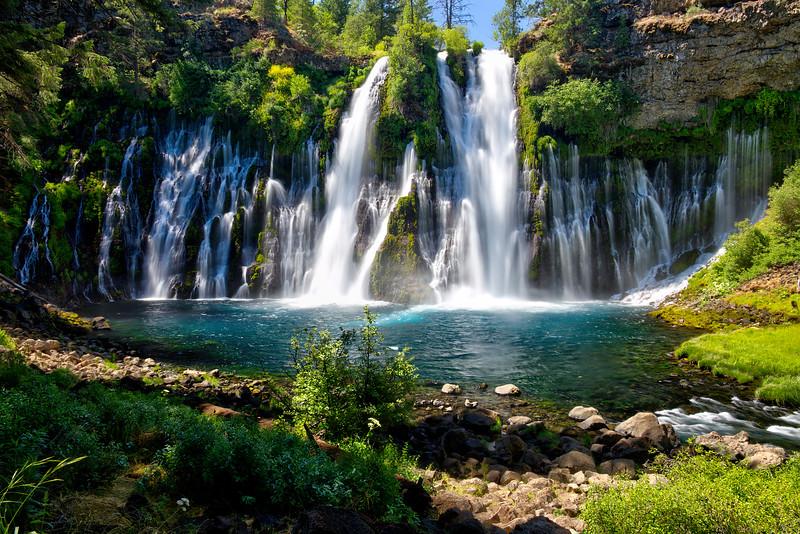 Burney Falls - McArthur-Burney Falls Memorial State Park, CA