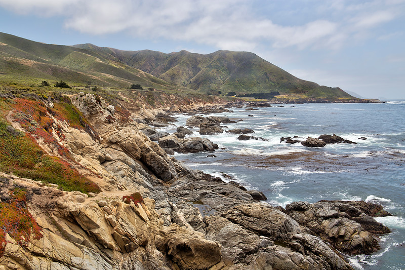 Rocky Shore - Big Sur, CA