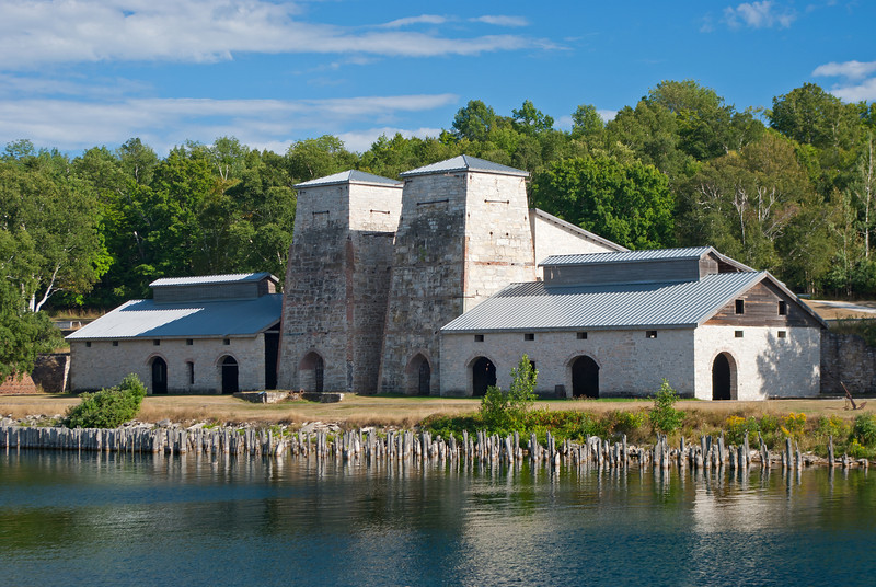 Surrounded by the blue waters of Lake Michigan and Big Bay de Noc, the historic town-site of Fayette Michigan is a  beautiful destination.