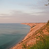 Evening light lends a warm glow to Grand Sable Banks in the Pictured Rocks National Lakeshore.