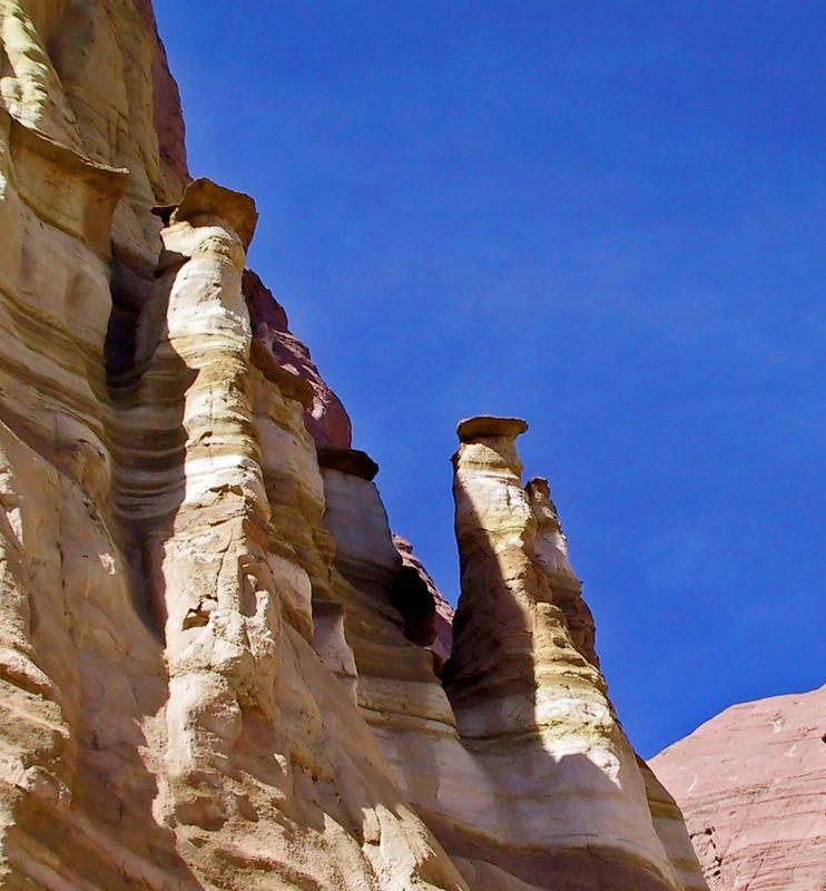 Sandstone cliff in Red Rocks State Park
