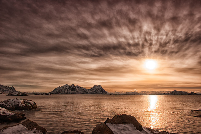 Golden Morning in Svolvær
