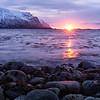 Rocky Lofoten Sunset