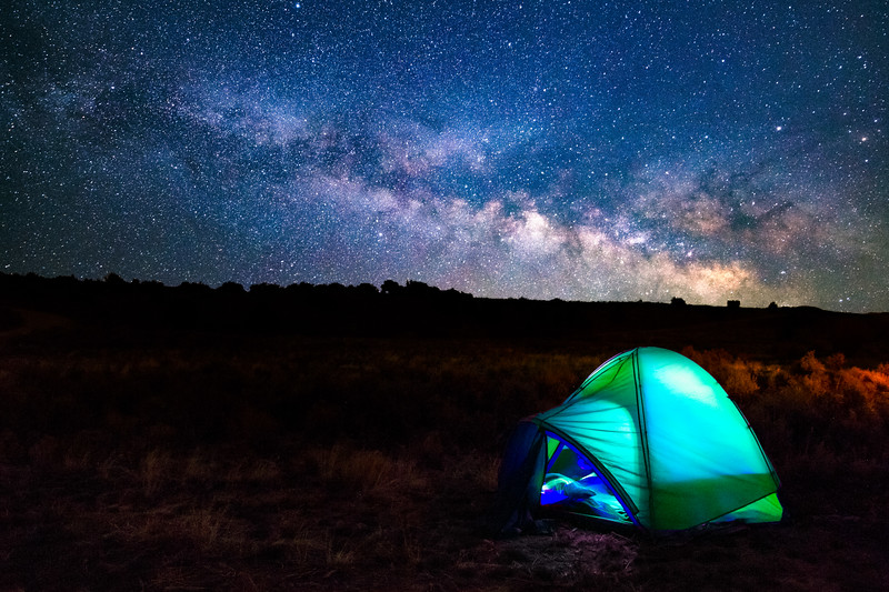 Tent and Milkyway