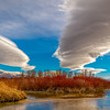 beautiful lenticular clouds