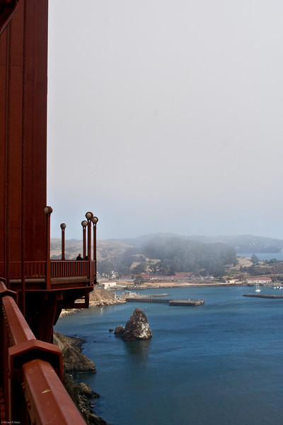 Looking northeast from Golden Gate Bridge