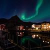 Northern lights over Nyksund II