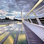 Sundial Bridge in the Rain