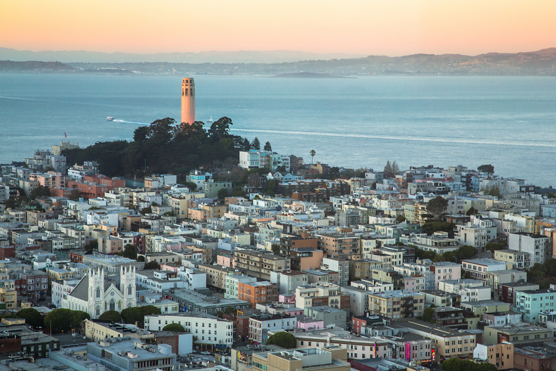 Coit Tower and the City