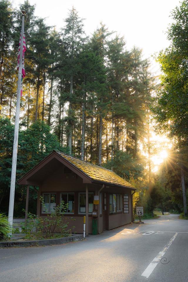 Patrick's Point State Park Entrance