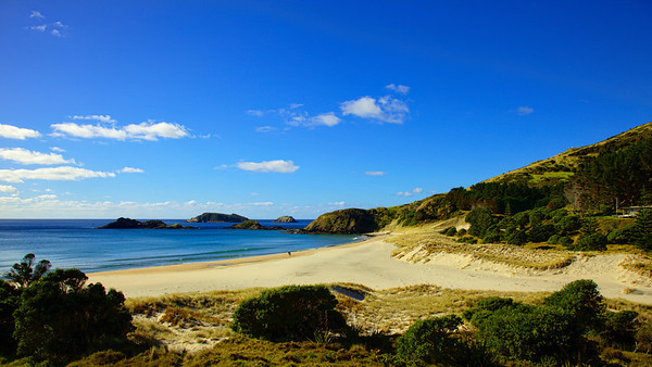 The Heads beach, Whangarei