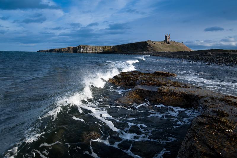 Dunstanburgh Castle Waves
