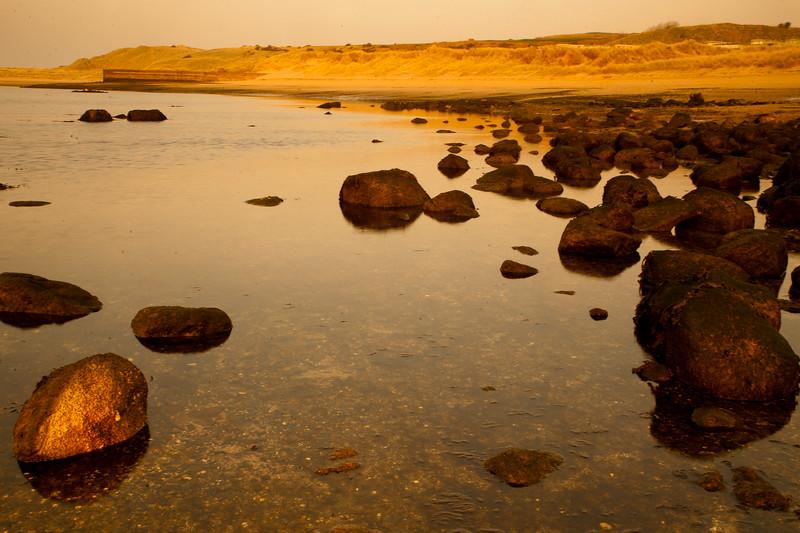 Budle Bay Rocks