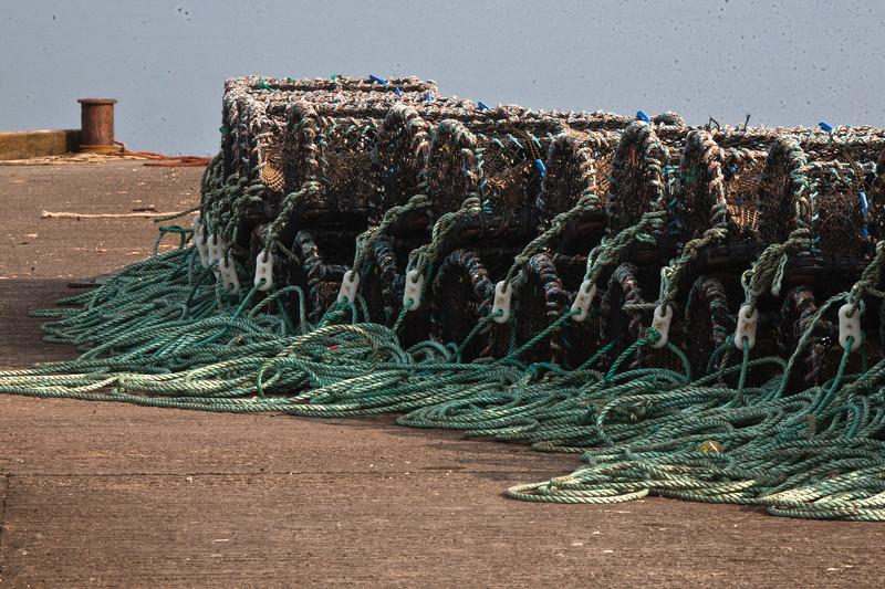 Holy Island Quay, Lobster Pots