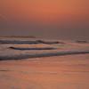 Bamburgh Dawn Waves