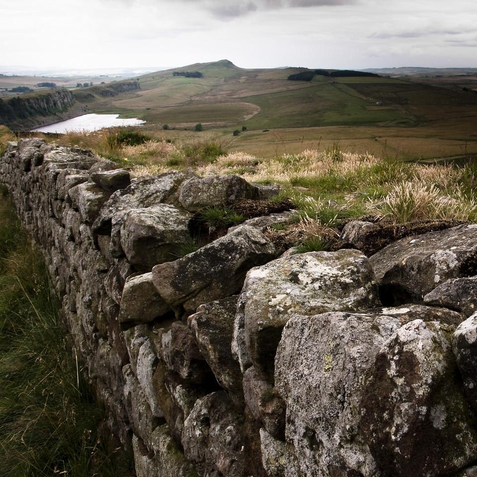 Hadrian's Wall, Northumberland UK