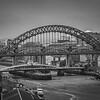 Tyne Bridge over the River Tyne, Gateshead and Newcastle UK