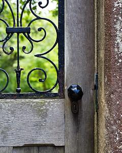 Wallington Hall, garden gate
