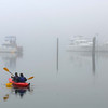 Foggy Morning Paddle Gig Harbor