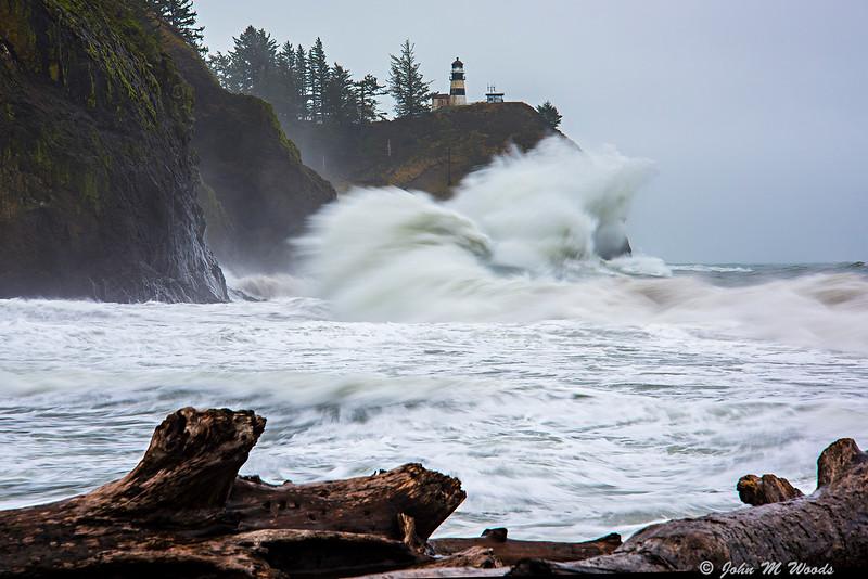 Cape Disappointment Storm Surf, Ilwaco, WA